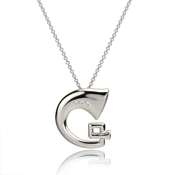 Le G French horn pendant